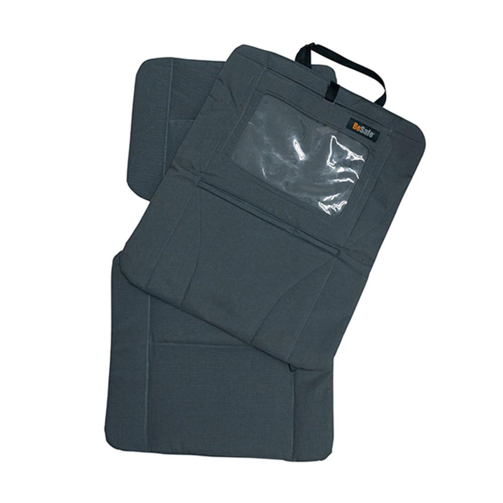 【BeSafe】二合一防踢護墊/可觸控平板保護收納袋