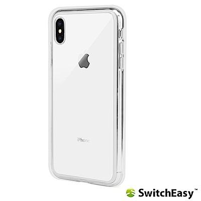 SwitchEasy Crush iPhone Xs Max 吸震防摔保護殼-透明
