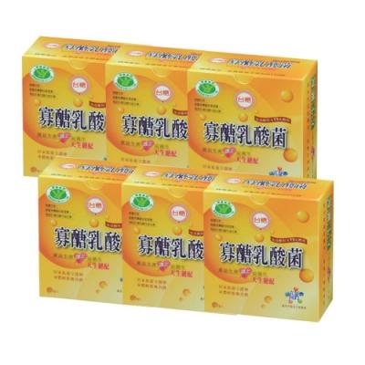 台糖 寡醣乳酸菌x6盒組
