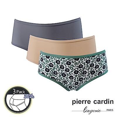 Pierre Cardin皮爾卡登 花卉印花舒柔三角褲 (3件組)