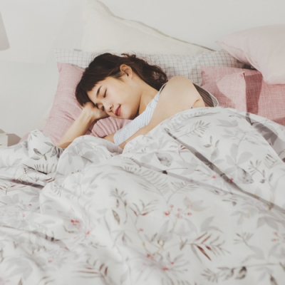 絲薇諾 MIT精梳純棉  戀人之境  雙人5尺-薄被套床包四件組