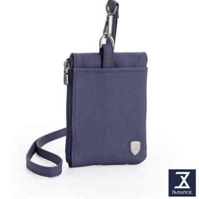 74盎司 FIT 零錢收納頸掛包[N-606-FI-M]藍