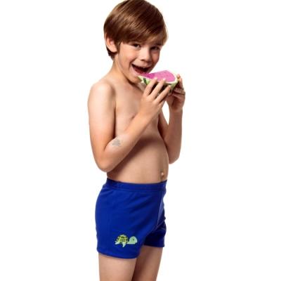 聖手牌 兒童泳裝 藍色SPA/泡湯男童泳褲