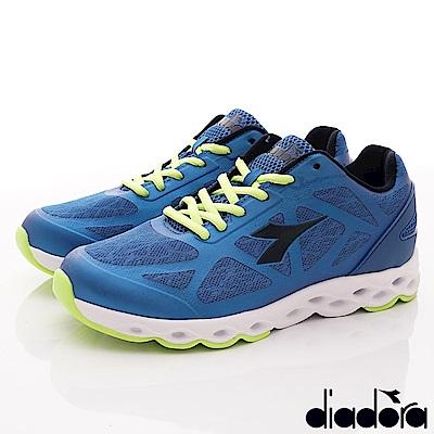 DIADORA-風動釋壓慢跑鞋款 SI926藍(男段)