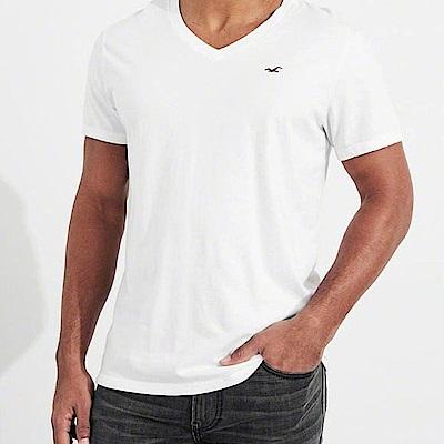Hollister HCO  短袖 T恤 白色 0856
