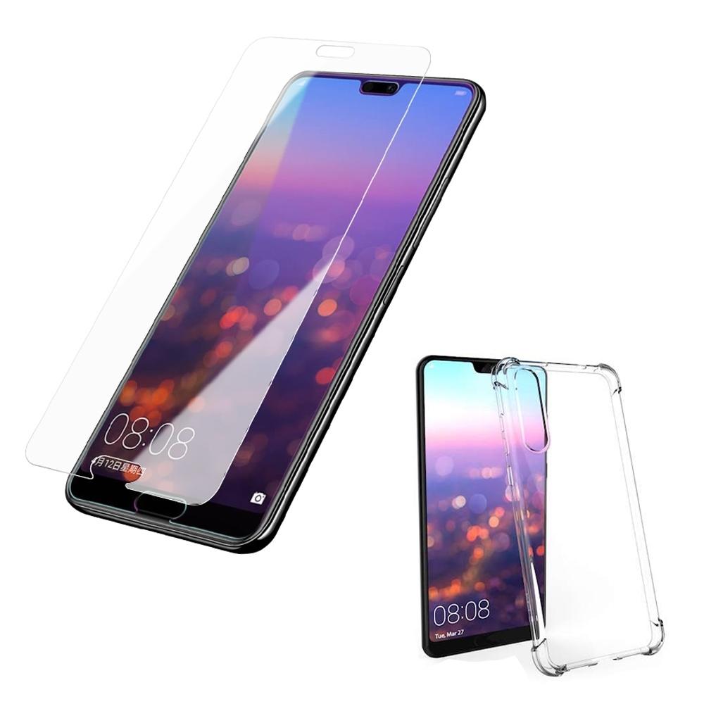 買保護貼送手機殼 華為 P20 Pro 非滿版 9H玻璃鋼化膜 手機 保護貼 華為 P20Pro保護貼 P20Pro鋼化膜