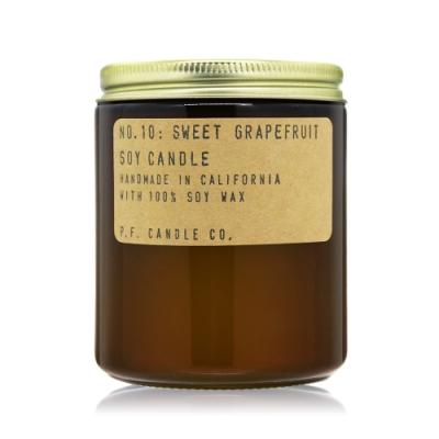 美國 P.F. Candle Co. 美國手工大豆蠟香氛蠟燭-葡萄柚 No.10 Sweet Grapefruit7.2oz
