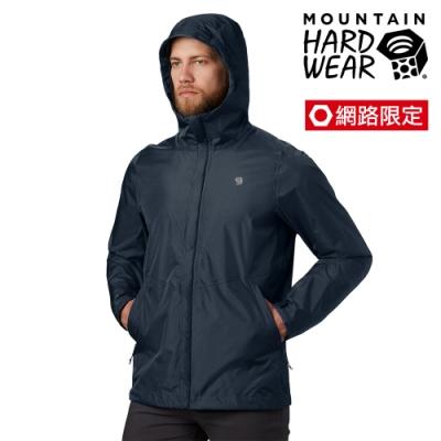 【美國 Mountain Hardwear】【網路限定款】Acadia Jacket 輕量防水外套 男款 深鋅 #1874541