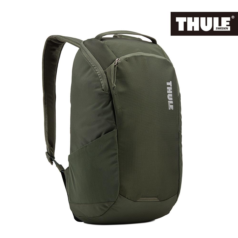 THULE-EnRoute 14L筆電後背包TEBP-313-軍綠
