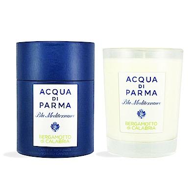 ACQUA DI PARMA 藍色地中海系列 卡拉布里亞佛手柑香氛蠟燭 200g