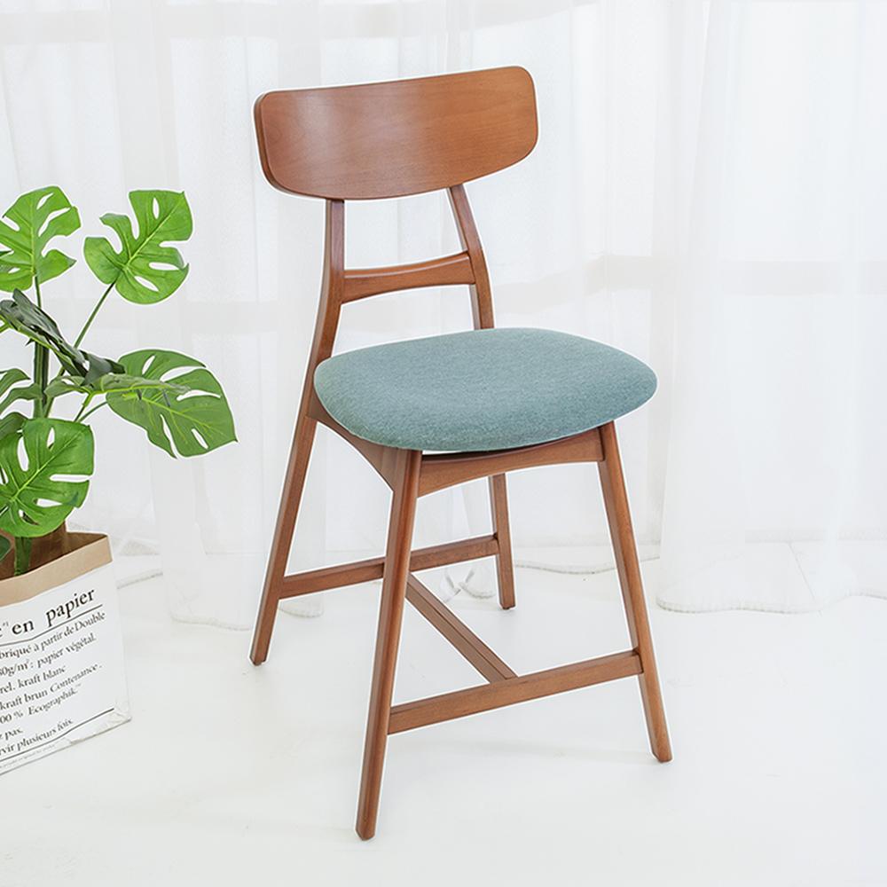 Bernice-布德斯實木吧台椅/吧檯椅/高腳椅(二入組合)-49x59x94cm