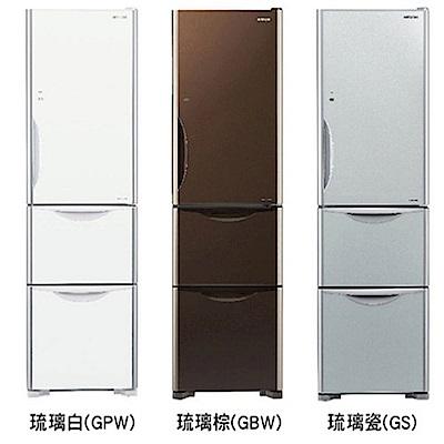HITACHI日立 394L 4級變頻3門電冰箱 RG41A