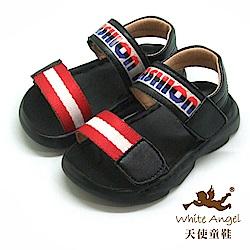 天使童鞋 帥氣防水涼鞋(小童)i936-紅
