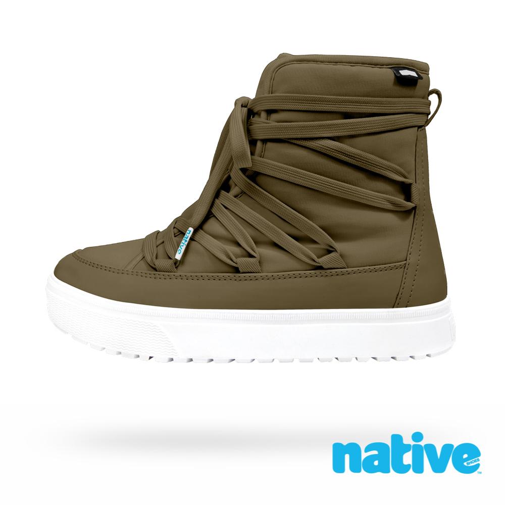 native CHAMONIX 男/女靴-率性綠