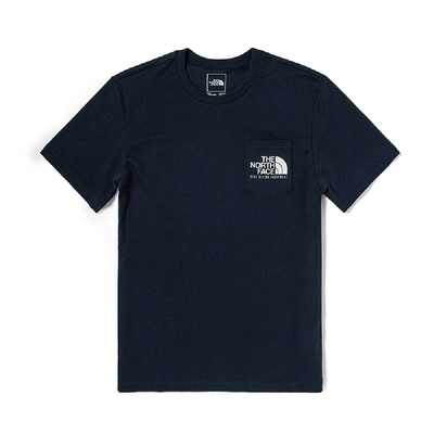 The North Face M S/S IMAGE IDEALS POCKET TEE 男 短袖上衣 藍-NF0A4U9LFN4