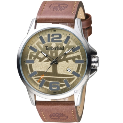 Timberland叢林之心時尚手錶(TBL.15905JYS/07-G)-46mm