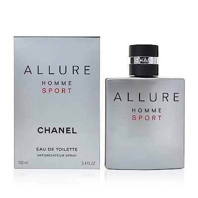 CHANEL 香奈兒 男性運動香水 100ml Allure Homme Sport