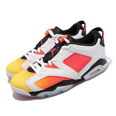 Nike 籃球鞋 Jordan 6代 Retro SE 男鞋 Low Dongdan 喬丹 AJ6 白橘 DC1048-110