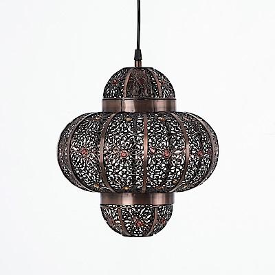 bnatural 紅銅刷黑摩洛哥風吊燈 BNL00008