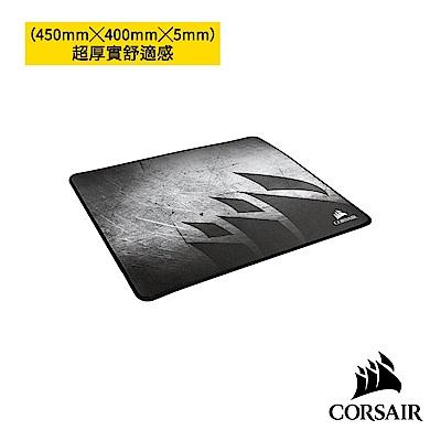 【CORSAIR海盜船】 MM350高級防磨損布料電競滑鼠墊-加大