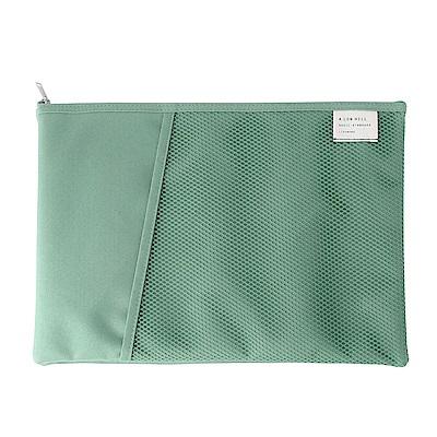 Livework 休閒風雙層對摺文件袋V2-薄荷綠