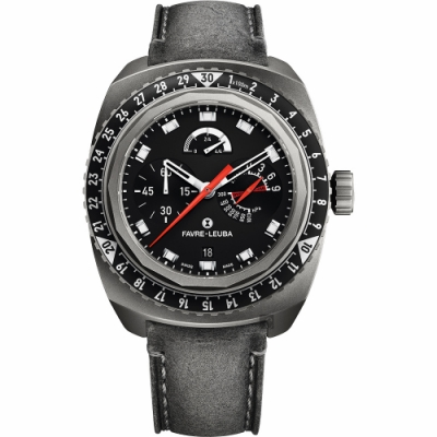 Favre-Leuba 域峰 Raider Bivouac9000 手上鏈鈦登山機械錶
