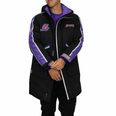 NBA Style WOVEN DOWN 大衣 羽絨外套 湖人隊
