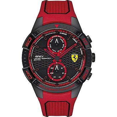 Scuderia Ferrari 法拉利 APEX日曆手錶(FA0830639)-44mm