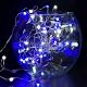 50燈LED大頭銅線燈串藍白光-USB電池盒兩用充電(贈遙控器)浪漫星星燈聖誕燈串 product thumbnail 1