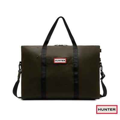 HUNTER - 尼龍旅行袋 - 橄欖色