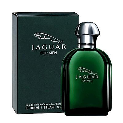 JAGUAR積架 經典男性淡香水100ml(綠色)
