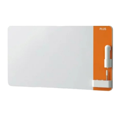 普樂士 PLUS CREA極淨無塵磁性白板 橘色/CLBK-0906EM-OR-TW