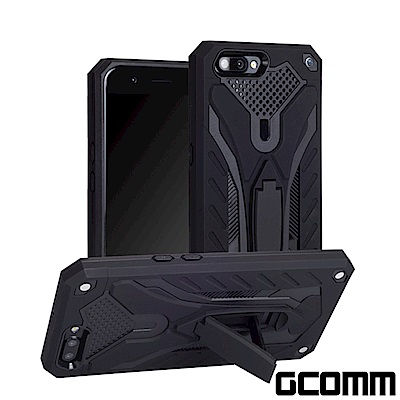 GCOMM Solid Armour 防摔盔甲保護殼 OPPO R11 黑盔甲