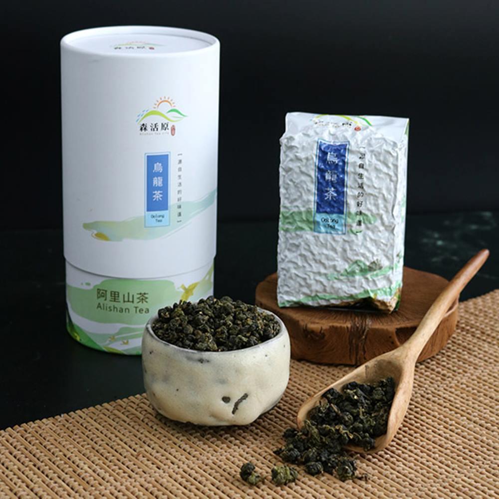 阿里山烏龍茶葉禮盒(150gx2罐)(春節禮盒)
