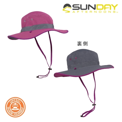 Sunday Afternoons 女款 抗UV雙面圓盤帽 S2C11395B