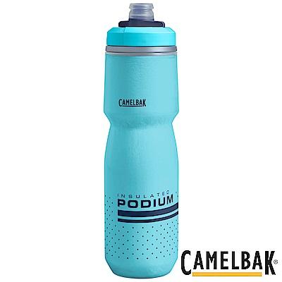 《CAMELBAK》保冷噴射水瓶 710ml 湖藍 (CB1873402071)