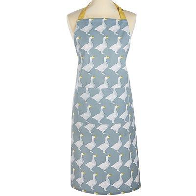《KitchenCraft》平口單袋圍裙(鵝)