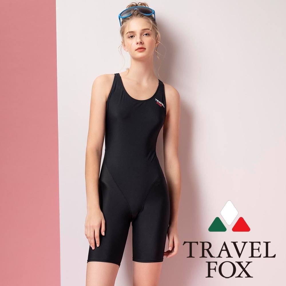 TRAVEL FOX夏之戀大女連身四角泳衣
