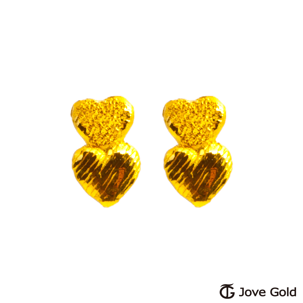 Jove gold 愛你愛我黃金耳環