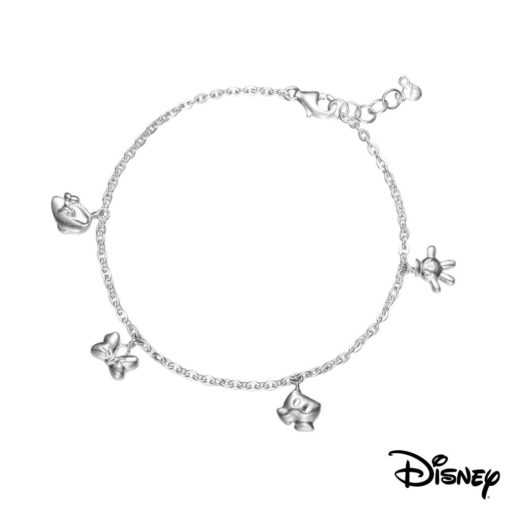 Disney迪士尼系列銀飾 愛不釋手純銀手鍊 @ Y!購物