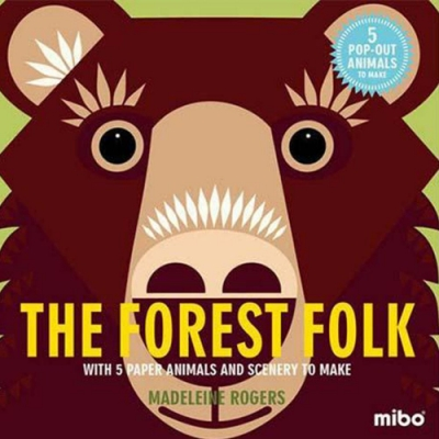 Mibo The Forest Folk 趣味勞作童書-森林一族