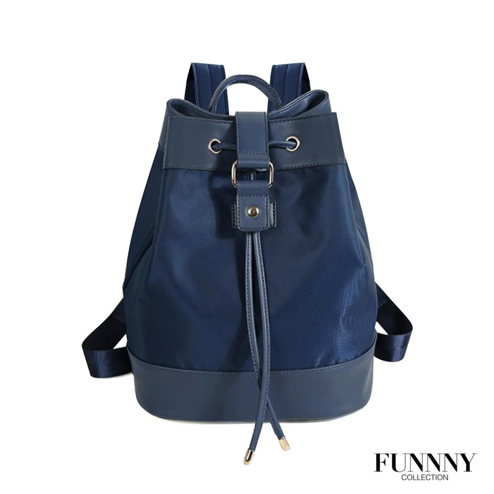 [絕版暢貨] FUNNNY 尼龍束口後背包系列 Tamia 藍