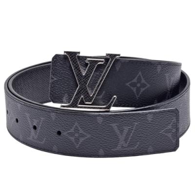 LV M0157T INITIALES 40系列Monogram帆布金屬框邊字母釦環腰帶/皮帶