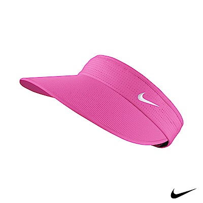 Nike Golf 可調式大帽簷運動遮陽帽 桃 639626-667