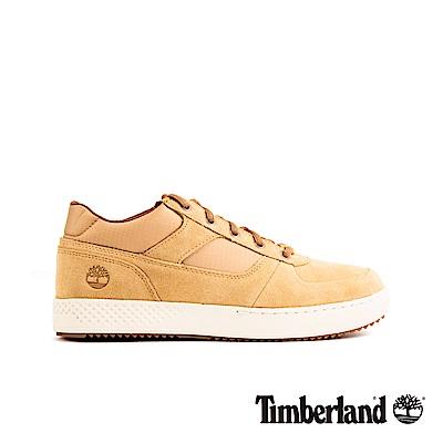 Timberland 男款中駝色絨面革牛津休閒鞋|A1XGF