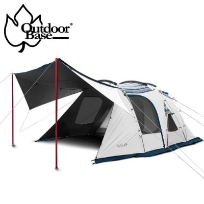 【OutdoorBase】彩繪天空帳2D(2 door)帳篷(含頂布)-23502+23526