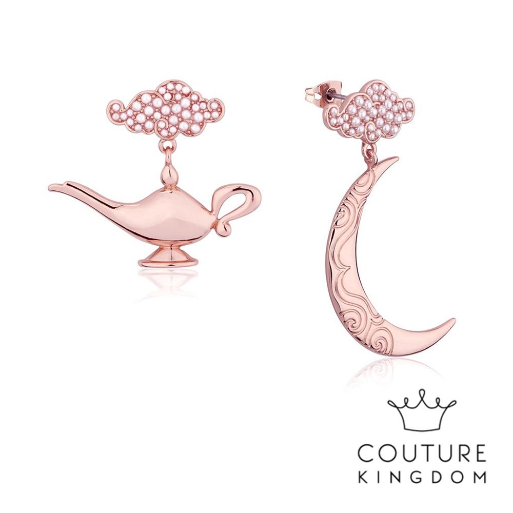 Disney Jewellery by Couture Kingdom阿拉丁神燈玫瑰金耳環