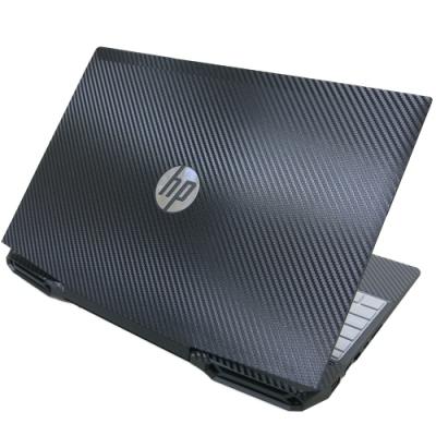 EZstick HP Gaming 15-dk0199TX 黑色Carbon立體紋機身貼