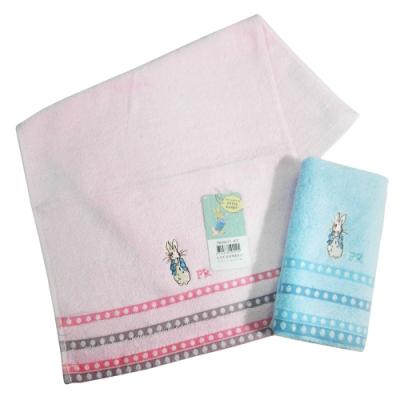 比得兔提緞精繡童巾-PR20112-KT/PR20113-KT-12入