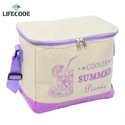 LIFECODE COOLER 飲料保冰袋(10L)-紫色
